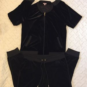 Juicy couture velour track suit